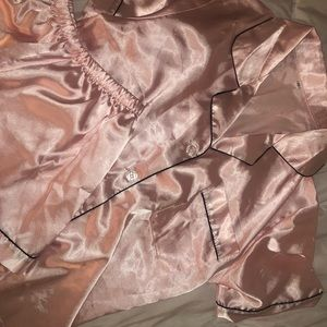 Other - silk pj set
